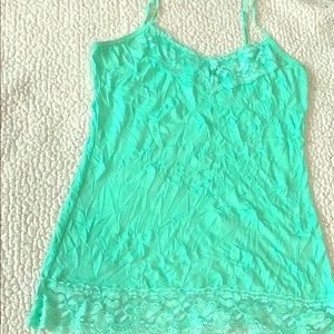 Maurice's Lace Tank Top size M